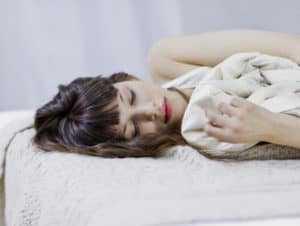 Как спать по фен